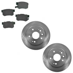 99-03 Acura TL Rear Disc Brake Rotor & Premium Posi Ceramic Pads