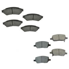 05-07 Terraza; 05-08 Uplander; 05-06 Montana; 05-07 Relay Front & Rear Semi Metallic Brake Pads