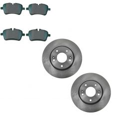 08-14 Mini Cooper Front Ceramic Brake Pad & Rotor Set