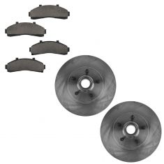 01-02 Ford Ranger Front Brake Rotor & Ceramic Pad Set
