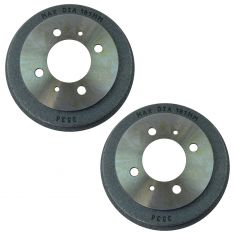 95-98 200SX; 91-93 NX; 91-99 Sentra Rear Brake Drum Pair