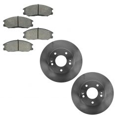 01-03 Hyundai XG300, XG350 Front Brake Rotor & Semi Metallic Brake Pad Kit