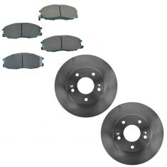 01-03 Hyundai XG300, XG350 Front Brake Rotor & Psi Ceramic Brake Pad Kit