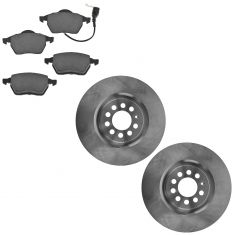 00-06 TT; 00-03 Golf; 04-05 Jetta Front Brake Rotor & Ceramic Pad Kit