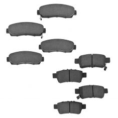 05-10 Honda Odyssey Front & Rear Ceramic Brake Pad Kit