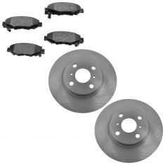 93-97 GS300, Supra; 92-00 SC300, SC400 Rear Brake Rotor & Semi-Metallic Pad Set