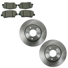 11-12 Elantra Front Posi Ceramic Brake Pad & Rotor Kit