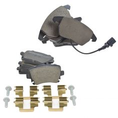 Audi, VW Multifit Front & Rear Ceramic Disc Brake Pads Kit