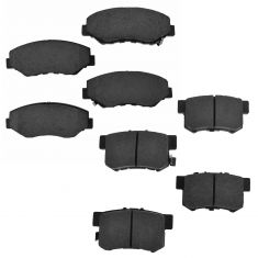 05-06 CRV; 12-15 CRV Front & Rear Ceramic Brake Pad Kit