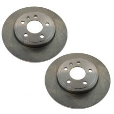 05-09 A4, A4 Quattro Rear Brake Rotor 288MM Pair