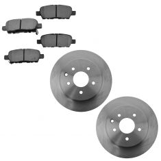 09-14 Nissan Maxima Rear Semi Metallic Brake Pad & Rotor Kit
