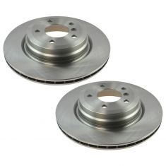 06-13 BMW 3 Series; 13-15 X1 Rear Brake Rotor Pair