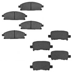 03-06 Acura MDX Front & Rear Ceramic Brake Pad Kit