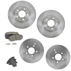 07-08 Edge, MKX Front & Rear Ceramic Brake Pad & Rotor Kit