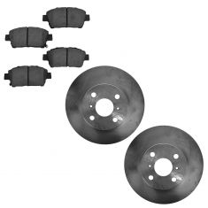 13-14 Scion iQ Front Ceramic Brake Pad & Rotor Kit