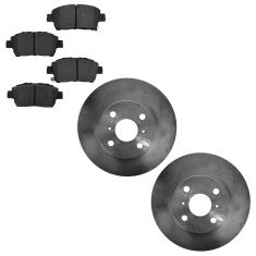 13-14 Scion iQ Front Semi Metallic Brake Pad & Rotor Kit