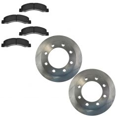 99 F350 F250 Front Metallic Pad & Rotor Kit