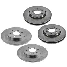 06 Terraza, Uplander, Montana, Relay Front & Rear Brake Rotor Kit