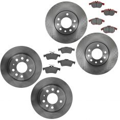 03 Saab 9-3 Sedan; 04-11 9-3 Front & Rear  Disc Brake Rotor LF = RF (900432)