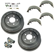 98-09 Ford Ranger Rear Drum Shoe Cyliner & Hardware Kit