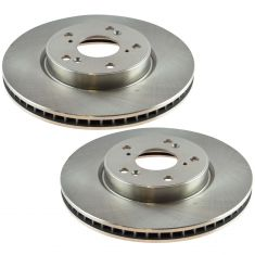 15 Civic; 13-16 Accord EXL L4 Front Brake Rotor Pair