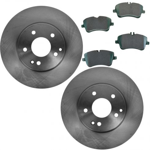 2003 Mercedes Benz C240 Brake Pads Rotors Replacement