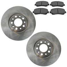 13-15 Dodge Dart; Front Posi Ceramic Brake Pad & Rotor Kit