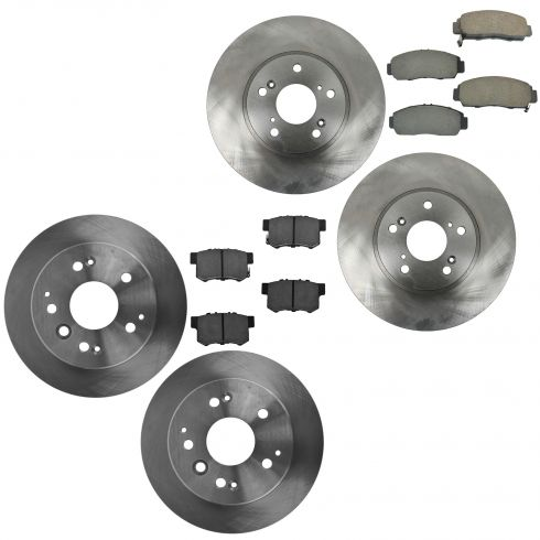 2004 acura tl brake pads rotors replacement 2004 acura. Black Bedroom Furniture Sets. Home Design Ideas