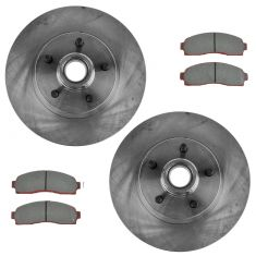 03-11 Ford Ranger; 03-06 Mazda B2300 Front Premium Posi Semi-Metallic Disc Brake Pad & Rotor Kit