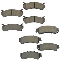 99-05 GM Full Size Truck Premium Posi Ceramic Disc Pads Front & Rear Kit