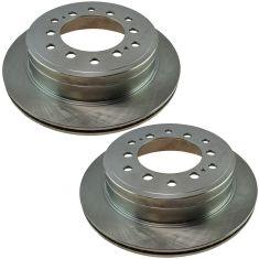10-16 4Runner, GX460; 10-14 FJ Rear Brake Rotor Pair