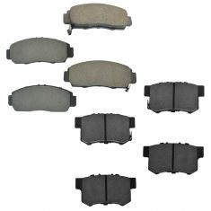 99-08 Acura TL Front & Rear Ceramic Brake pad Set