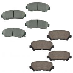 11-14 Odyssey Front & Rear Ceramic Brake Pad Kit