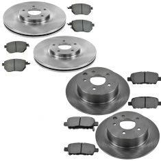 04-05 Nissan Maxima Front & Rear Metallic Pad & Rotor Kit
