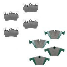 02-13 BMW Front & Rear Posi Ceramic Brake Pad Kit