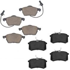 Audi A4 Front & Rear Ceramic Brake Pad Set
