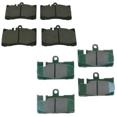 01-06 Lexus LS430 Front & Rear Posi Ceramic Brake Pad Set