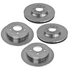 06-10 Impala Front & Rear Disc Brake Rotor Set