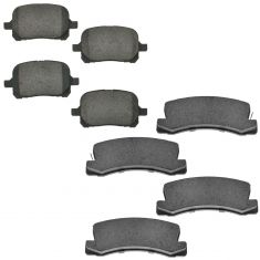 Toyota Lexus Front & Rear Ceramic Disc Brake Pad Kit