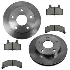 94-99 Dodge Ram 1500 Front Brake Rotor & Ceramic Pad Kit
