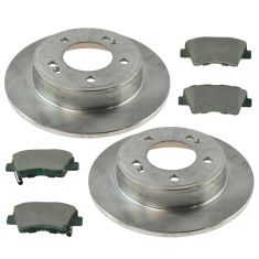 11-14 Hyundai Elantra Rear Brake Rotor & Ceramic Pad Kit