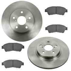 96-00 Toyota Rav4 Front Ceramic Brake pad & Rotor Kit