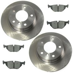 92-99 3 Series Ceramic Rear Disc Brake Pad & Rotor Kit