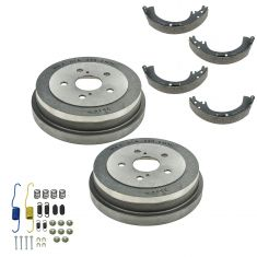 92-06 Camry; 99-03 Solar Rear Drum Shoe & Hardware Kit