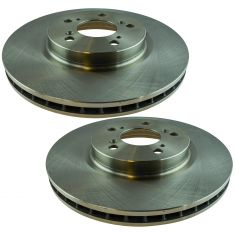 05-12 Acura RL Front Driver or Passenger Side Brake Rotor Pair