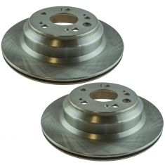 05-12 Acura RL Rear Driver or Passenger Side Brake Rotor Pair