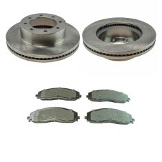13-16 F-250 SD,13-16 F-350,13-16 F-450 Front Semi Metallic Pad & Rotor Kit