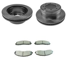 13-16 F-250 SD,13-16 F-350 Rear Semi Metallic Pad & Rotor Kit