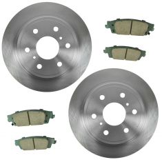 15-16 Escalade, 15-16 Escalade ESV,14-16 Silverado 1500 Rear Ceramic Brake Pad & Rotor Kit