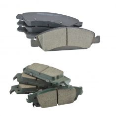 15-16 Escalade,15-16 Escalade ESV, 14-16 Silverado 1500 Front & Rear Posi Ceramic Brake Pad Set